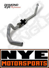 "DIAMOND EYE 4"" TURBOBACK EXHAUST STAINLESS 94-02 Dodge Ram 2500 3500 Diesel 5.9"
