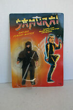 Samurai And His Combat Master Vintage Action Figure 1980s New In Package