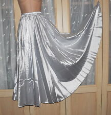 Huge sweeping silky soft satin petticoat, BN, silver