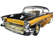 1957 CHEVROLET BEL AIR HARD TOP GOLD TOM KELLY ED. 1/24 M2 MACHINES 40300-51B