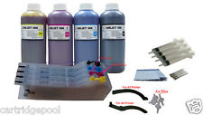 4 Pint ink +CISS Refillable Cart for Brother LC75 LC71 J435W J5910DW J6710DW