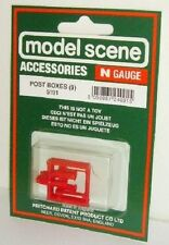 Modelscene N Accessories 5191 - Post Boxes        Plastic Figures Railway Models