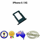 for iPhone 5 - Nano Sim Card Tray Slot Holder Replacement Part BLACK