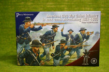 Perry Miniatures AMERICAN CIVIL WAR UNION INFANTRY SKIRMISHING 1861-65 28mm