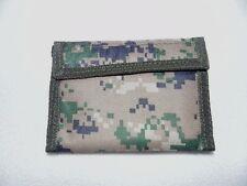 Men's Nylon Commando Wallet BiFold 5 Inside Pockets Velcro Closure Many Styles