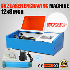 High Precise 40W CO2 Laser Engraving Cutting Machine Engraver Wood Metal Cutter