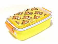 Rilakkuma Bento lunch box with partition Kawaii Made In Japan F/S