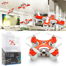 Cheerson CX-10C 2.4G 6 Axis RC Quadcopter Helicopter Mini Drone RTF With Camera