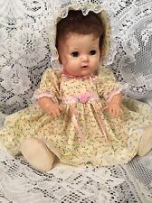 """Doll Clothes for 16"""" Tiny Tears, Dysentery """"Pretty Yellow Dress Set"""" by Maureen"""