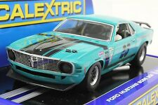 SCALEXTRIC C3318 MUSTANG TRANS AM BOSS 302 USA LIMITED EDITION NEW 1/32 SLOT CAR