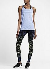 NIKE EPIC LUX PRINTED RUNNING TIGHTS 695499 455 SZ: WMNS XS RETAIL: $150.00
