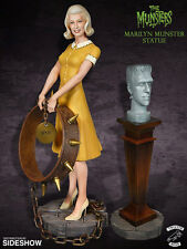 Marilyn Munster Statue and Herman Bust Color Maquette Tweeterhead