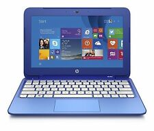 HP Stream 11-d010wm 11.6 Laptop Intel Celeron N2840 2.16GHz 2GB 32GB SSD Win8.1