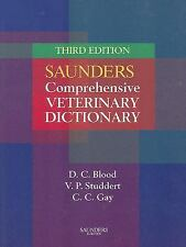 Saunders Comprehensive Veterinary Dictionary (Soft Cover)-ExLibrary