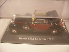 voiture 1/43 eme IXO ALTAYA Classics HORCH 853A Cabriolet 1938