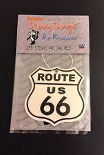 ROUTE 66 AIR FRESHENER * FRESH *  car truck rat rod vintage 60's 70's sign chevy