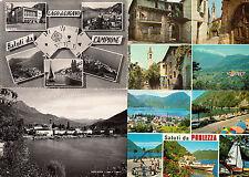 Lot 29 cartes postales anciennes 1950-1980 ITALIE ITALIA LAGO DI LUGANO LAC