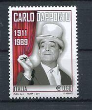 Italia 2011 Centenario della nascita di Carlo Dapporto MNH