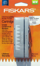 Fiskars BANNERS AWAY Interchangeable BORDER PUNCH Cartridge Peaks NIP
