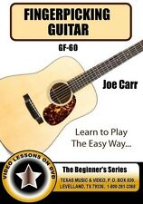 Fingerpicking Guitar Instructional DVD -Joe Carr The begginer's Series (GF-60)