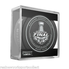 2014 STANLEY CUP FINAL FINALS GAME FOUR RANGERS KINGS OFFICIAL GAME PUCK