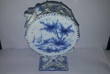 Late 19th Century Delft Drum Ornament