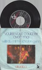 """7""""--GILLA & SEVENTY FIVE MUSIC--VOULEZ VOUS COUCHER AVEC MOI"""