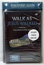 New Walk As Jesus Walked DVD with Discovery Guide Faith Lessons Vol 7