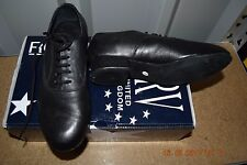Black Roch Valley men's BLB ballroom/latin dance shoes-size UK Child 1