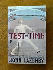 Test of Time by John Lazenby (Paperback, 2005) 1897-8 Ashes tour