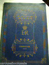 The Illustrated London News Coronation 1953 Queen Elizabeth II pb A43