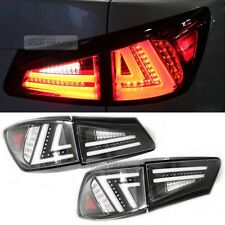 Eropean Style Black Housing Tail Light Lamp Assy for LEXUS 2006-2013 IS250 IS350