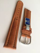 19MM-Western Leather Waterproof Watch Band - Made In Canada - PRICE REDUCTION
