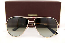 New Tom Ford Sunglasses 144 Marko 28P GOLD/GREEN in 007 Skyfall James Bond