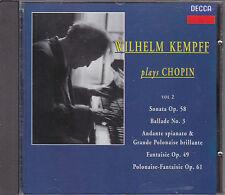 Wilhelm Kempff plays Chopin