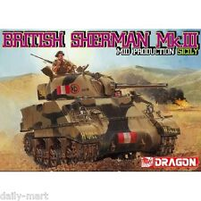 Dragon 1/35 6231 Sherman Mk.III Mid Production Sicily Model Kit
