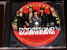 Scorpions: Don't Believe Her CD Single 1991 PolyGram Mercury Promotional CDP 379