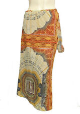 JEAN PAUL GAULTIER SOLEIL mesh MONEY print skirt MEDIUM NWT