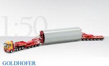 Conrad Mercedes Actros w/Goldhofer Modular Trailer - W+F Franke Diecast 1/50 MIB