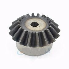 Bevel Gear 2.0 Module 20 Tooth 1:1  90 ° Pairing Pitch 6.28mm Motor Bevel Gear