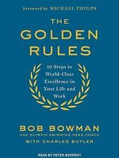 The Golden Rules by Bob Bowman AudioBook MP3 CD iPod Ready MIchael Phelps Story