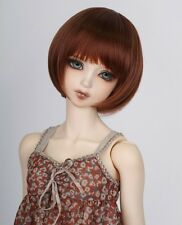 "New 1/3 Girl BJD SD DOC DOD LUT Doll Wig Short Dollfie 8-9"" Bjd Doll Wig FA38"