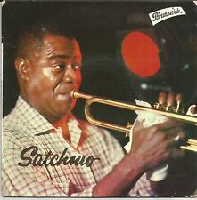 LOUIS ARMSTRONG Satchmo FRENCH EP BRUNSWICK