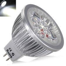 MR16 GU5,3 4W Weiß 4 LED Strahler Lampe Licht Leuchte Birne Leuchtmittel DC 12V