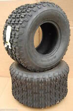 2 New 20x11-8 Nanco Dirt Track N606 Kawasaki ATV Tires 4 Ply 20118 11.00