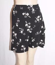 NEXT Designer Black Daisy Flower Short Skirt Size 8-XS BNWT #SH91