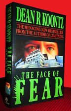 DEAN KOONTZ Face of Fear 1st World Hard cover as Koontz! SIGNED PLATE! FREE Ship