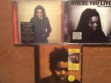 Tracy Chapman [3 CD Alben] Tracy Chapman + Let it Rain  + Where You Live (2 CD)