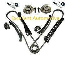 5.4L Triton 3V 04-08 Ford F150 Lincoln Timing Chain Kit w/ Cam Phasers Solenoid