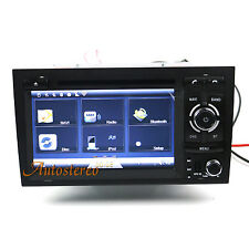 Car Auto Radio GPS Sat Nav Navigation Multimedia DVD Player for Audi A4 S4